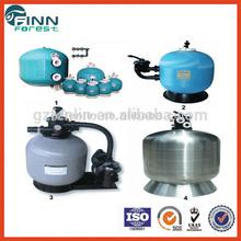Swimming pool water filtering 450mm-2500mm diameter aqua sand filter