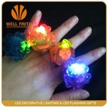 Led Finger Rose Ring Light with Promotional Gift