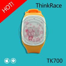 Thinkrace best-selling gps gsm tracker watch kids TK700