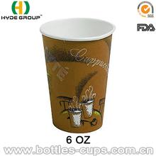 Atacado copos de papel para cappuccino, Café, Latte