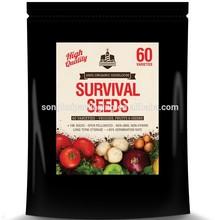 survival seeds packing bag/ seeds packing bag