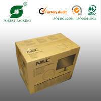 TV packing boxes plain corrugated box