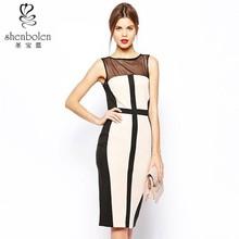 Sleeveless 2015 wholesale dress women clothing factory in China