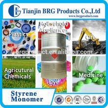 Tech grade liquid 99.5% min styrene monomer/ ethenylbenzene/cinnamene cas 100-42-5