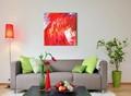 bella moderna casa colore decorazione della parete pittura astratta