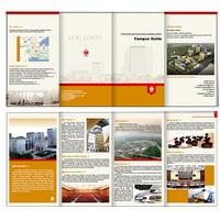 custom design leaflet samples printing service