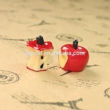 EWpg resin christmas apple resin christmas accessories resin crafts