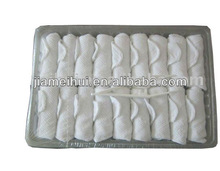 beach rolled dry cotton towels
