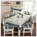 Poliestere sedia tratto di copertura, pastorale tovaglia, sedia da pranzo coprire cuscino