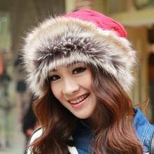 New Personalized Warm Earflaps Fur Winter Hat