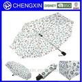 paraguas de proceso de fabricación superior para trabajo hecho a mano paraguas plegable