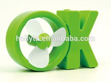 2014 China Supplier Small Order Quantity Plastic Usb Mini Fan