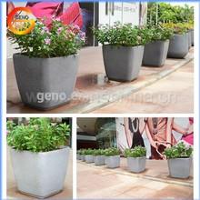 garden deco vietnam fiberglass polystone pots, fiberglass pots, wood pots