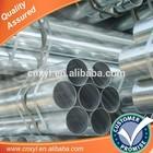 galvanized japanese tube 8 asian tube/gi tubes made in china