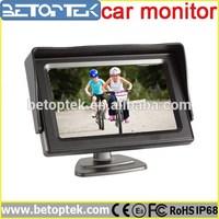 4.3 inch reversing monitor for car camera kit