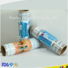 Hot ! Food packaging laminated plastic film for food packing packet