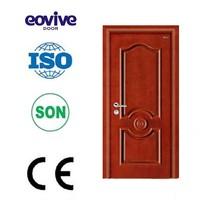 Hot sale plain solid wood oak doors design