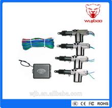 auto one master three slaves central lock system zinc alloy, car door lock car lock actuator car central locking system