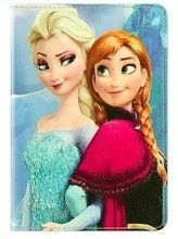 For iPad Air/iPad 5 Cartoon Frozen Girl Elsa PU Leather Case