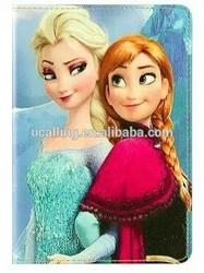For iPad Air/iPad 5 Cartoon Frozen Girl Elsa PU Leather Case