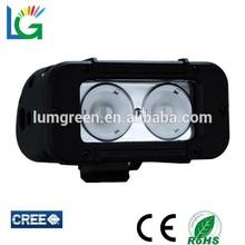 auto head lamp 12 volt led light bar 2pieces 10w led work light combo