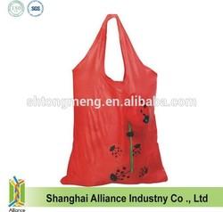 2014 popular ladybug foldable shopping bag for promotion(CFA-097)