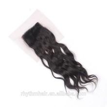 Rhythmhair Natural wave Lace closure.100 human hair.Grade 6A.brazilian human hair.brazilian hair closure