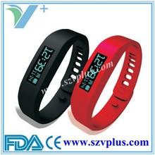 OLED Smart bluetooth vibrating bracelet Pedometer
