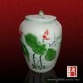 estilo chino de excelente calidad de loto jarras y jarrones decorativos para el vino en el mejor de la venta