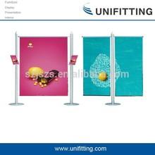 UF-FBD-10 Trade show backdrop stretch fabric display