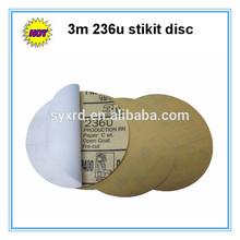 3m 236u 80 to 600 grit Aluminum Oxide PSA Sanding Discs
