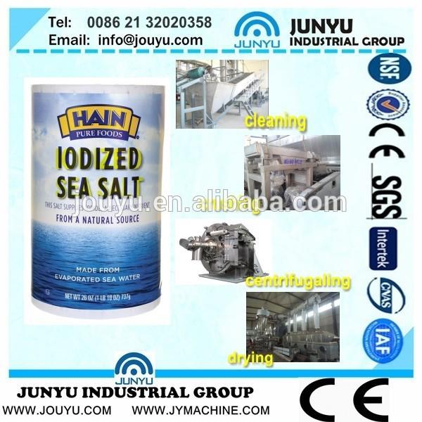 Fluxo livre sal linha de produção, Sal planta de refino, Celtic sal do mar