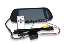 DLS 12V rear view mirror tft lcd car monitors 7 inch car monito
