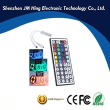 DC12V 6A IR 44 key controller ir remote controller for rgb led strip