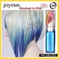 diy alegre natural tintura de cabelo creme de cabelo temporária rímel azul da tintura de cabelo