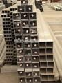 6000 serie de aleación de aluminio 6061/6063 plaza de tubos de aluminio/tubo