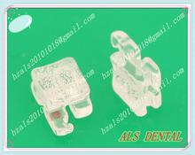 Dental sapphire clear brackets braces with ISO,FDA,CE