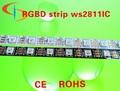 Digital RGB WS2811 direccionable individualmente llevó la tira, Dc5v