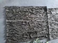 Q1111156 high quality artificial tree bark decorative palm tree bark for sale imitation tree bark