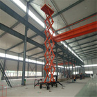 Hydraulic electric ladder indoor scissor lift table