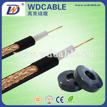 coaxial cable RG6-for satellite LNB, satellite dish,satellite receiver
