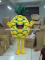 heiße verkäufe neuesten ananas kostüm walking maskottchen schönen gelben ananas maskottchen cartoon cosplay