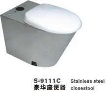 SS WC Seat (Stainless Steel Water Closet, SS Toilet)