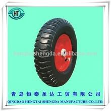 cheap rubber pneumatic hand truck wheelbarrow tire tyre 4.00-8