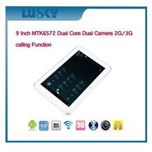 9 inch 3G MTK6572 1024*600 Pixels 1GB+8GB laptop computer