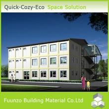 Foldable Fireproof Green Environmental Friendly Prefab Steel Building