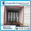 Supplying industry grade rubber plastics used styrene monomer/ ethenylbenzene/cinnamene /