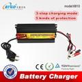 Ac-dc 10a 220v a 12v inteligente coche a casa cargador de batería