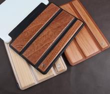 pop solid wood case for ipad air 2 black walnut