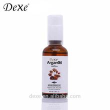 Healthy hair keratin hair treatment argan oil product